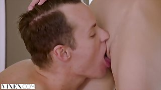 18Yo Girl Gets Dominated by Huge Male Stick